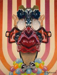 Clown by redeye-art