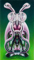 Bunny by redeye-art