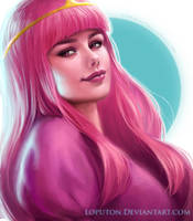 Princess Bubblegum by Loputon