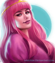 Princess Bubblegum by Loputon