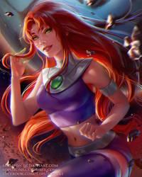 Starfire by Loputon
