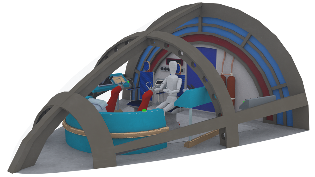 Cockpit Set WIP009 by MikeDBoing