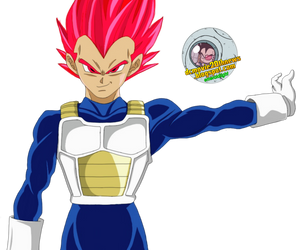 Vegeta ssj Red Chapter 22 render by EmeraldLighting