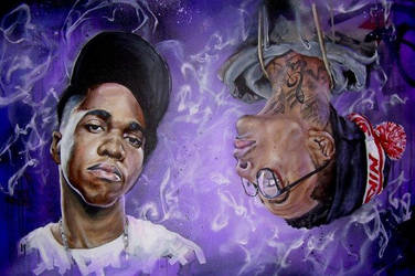 Wiz Khalifa x CurrenSy 2 by JackLabArt