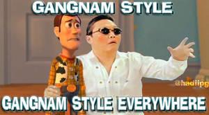 gangnam style everywhere by yefta03