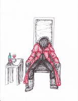 Alucard doodle2 by DropDeadDraculina
