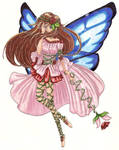 Rose fairy by Nekkohime