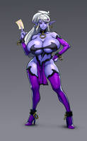 Manaworld's Syx by blackmyst