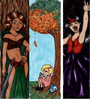 Ikasucon bookmarks 2011 by Elvan-Lady