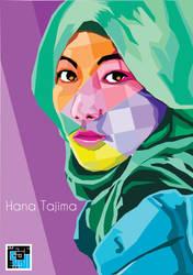 Hana Tajima by addinsimone