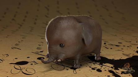 Micro Elephant by MadlegBadleg
