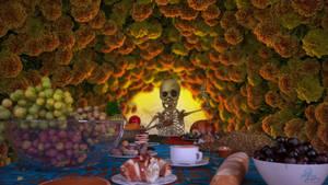 Dia de muertos by MadlegBadleg