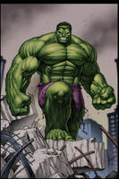 The Hulk by GMcConnell