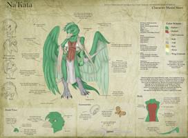 Na'kata - Character Sheet by Ulario