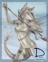 Obscure Animal Alphabet - D by Ulario