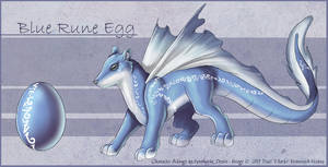 The Blue Rune Egg has Hatched by Ulario