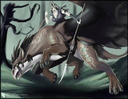 Nightsister Gryphon by Ulario