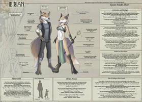 Ibirian - Species Sheet by Ulario