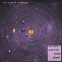 The Liara System - Star Map by Ulario