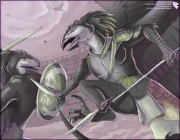 Jincilla Gladiators by Ulario