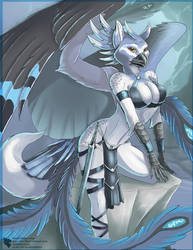 Frost Gryphon by Ulario