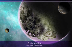Felar/Atai - Spacescape Illustration by Ulario