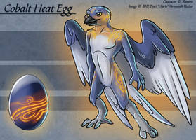 Cobalt Heat Egg - Adoptable by Ulario