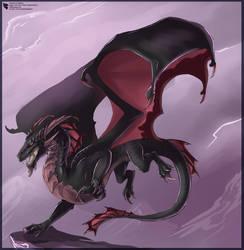 Black and Crimson by Ulario