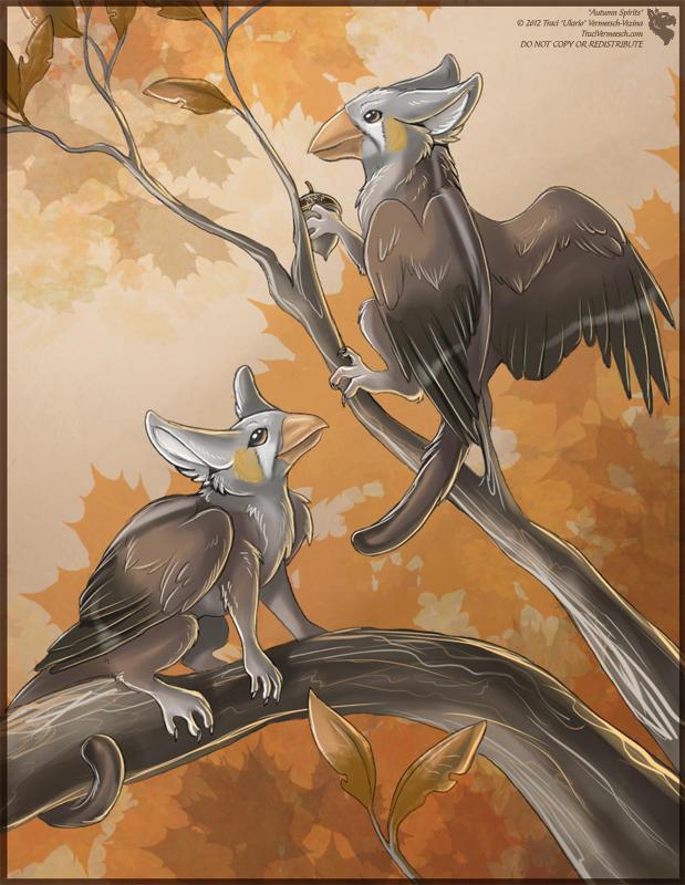 Autumn Spirits by Ulario