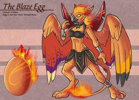 Blaze Egg - Adoptable by Ulario