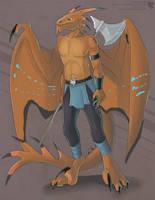 Razor Dragon (Grown-Up Adoptable) by Ulario