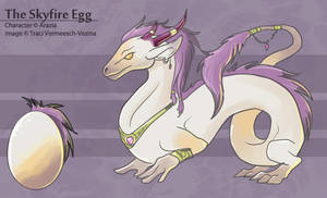 The Skyfire Egg by Ulario