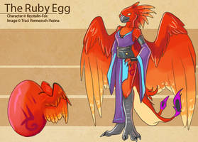 The Ruby Egg by Ulario