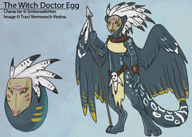 The Witch Doctor Egg by Ulario
