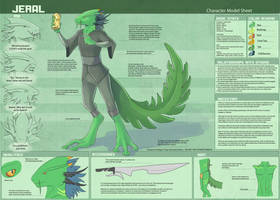 Jeral - Character Sheet by Ulario