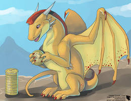 Kaching!!! (Cinnared for Fantasy Xchange) by Ulario