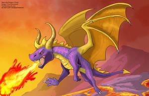 [Fan Art]  Spyro the Dragon by Ulario