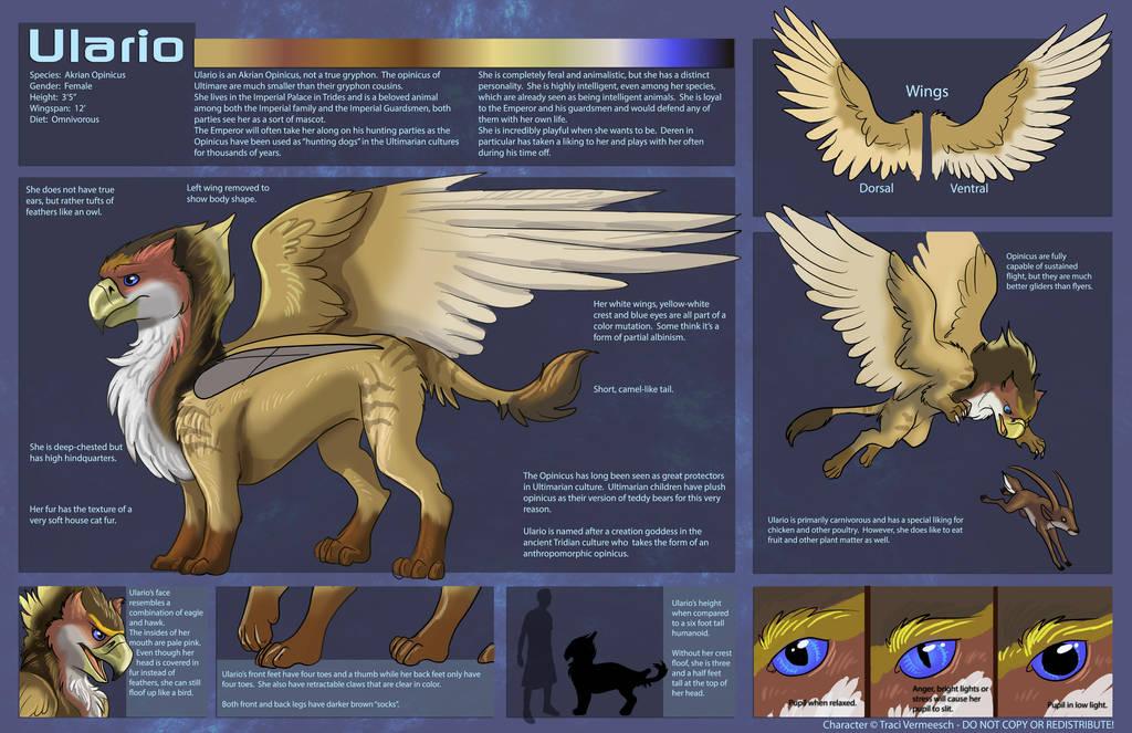 [Personal] Ulario - Character Sheet by Ulario