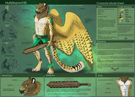 [Personal] Huitz - Character Sheet by Ulario