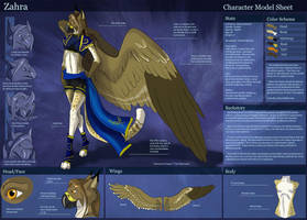 [Personal] Zahra- Character Sheet by Ulario