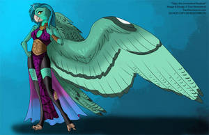 [Character Auction] Talyn The Lineolated Parakeet by Ulario
