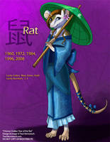 [Character Auction] Chinese Zodiac:  Rat by Ulario