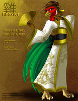 [Character Auction] Chinese Zodiac: Rooster by Ulario