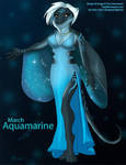 [Anthro Birthstones] March: Aquamarine by Ulario