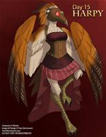 [Mythological May] Day 15 - Harpy by Ulario