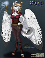 [Commission] Orona - Randomly Generated Character by Ulario