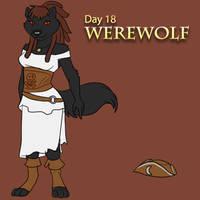 [Mythological May] Day 18 - Werewolf by Ulario