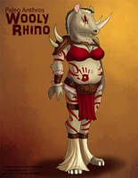 [Paleo Adoptables] Wooly Rhino by Ulario