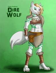 [Paleo Adoptables] Dire Wolf by Ulario