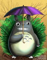 [Fan Art] My Neighbor Totoro by Ulario